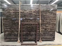 King Gold Brown Marble Slabs&Tiles Polished