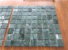 Fantasy India Green Marble Verde Guatemala Marble Mosaic