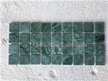 Verde Guatemala Marble India Green Marble Mosaic for Interior