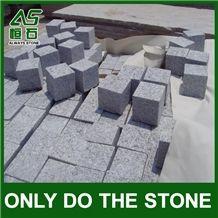 China G603 Grey Granite Cobbles/Cube Paving Stone