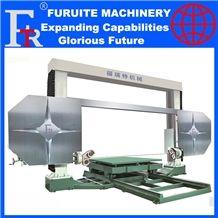 Frt-3000 3500 Cnc or Plc Diamond Wire Saw Cutting Machine