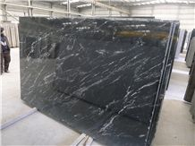 Brazi Black Nevada Via Lactea Preto Nevada Matrix Antique Granite Slab