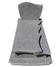 G623 Grey Granite Tombstone