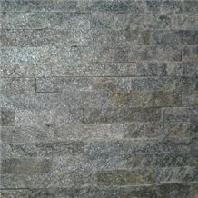 Grey Slate Stone Veneer Wall Panel Slate Ledgestone Wall Cladding