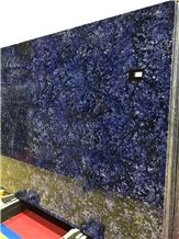 New Blue Azul Bahia Luxury Granite Slabs Tiles