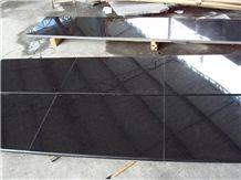 New G684 Fuding Black Pearl Black Diamond Black Granite Tiles