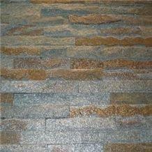 Rusty Slate Stone Veneer Slate Ledgestone Wall Cladding Stacked Stone