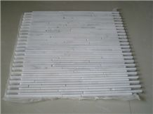 Wholesale Marble Mosaic Design Narrow Strips Linear Strips Mosaic