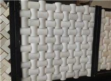 Wholesale Tumbled Mosaic Marble Mosaic Design Herringbone Mosaic