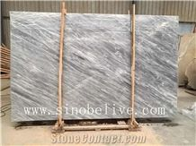 Space Grey(Light)Marble Slabs, Italy Blue Marble