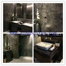 Versace Black, Black Granite Home Decor