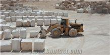 Harsin White Marble Blocks