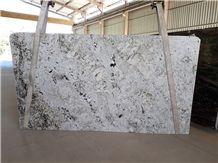 Alaska White Granite Slabs, Brazil White Granite