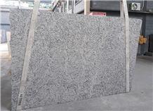 White Napoli Granite Slabs, Brazil White Granite