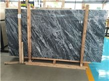 Azul Galaxia Silver Grey Marble Slabs,Decorative Wall Covering Tiles