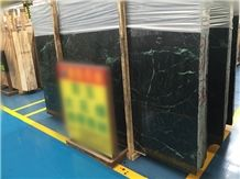 Big Green Flower Verde Guatemala Marble Slabs