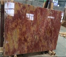 Fangaohuang Van Gogh Yellow Marble Slabs,Floor Wall Cover Tiles