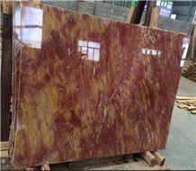 Fangaohuang Van Gogh Yellow Marble Slabs,Floor Wall Cover Tiles