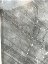 Gold Brick Grey Marble Slabs,Polished Wall Floor Application Tiles