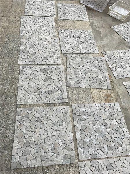 Italian Italy Grey Marble Mosaicspaversbathroom Wall Floor Tiles