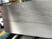 Mars White Marble with Red Veins,Polished Slab,Wall Floor Tile