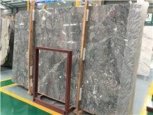 Mount Tai Phelps Pus Grey Marble Slabs,Polished Wall Floor Tiles