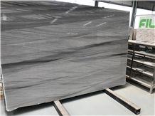 Saint Anne Grey Wood Vein Quartzite Slabs,Hotel Floor Wall Tiles,Table