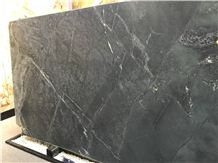 Utapau Forest Black Grey Soapstone Slabs,Polished Wall Floor Tiles