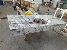 Vino Viola Calacatta Marble Milas Lilac New York Vanity Countertop