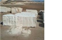 Imperial White Marble Block, Tunisia White Marble