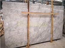 Fantasy White Quartzite Arabescato White Quartzite Slab