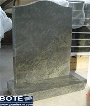 Tropical Green Granite Tombstone Monument Gravestone Headstones