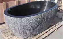 Blue Limestone Bathtub