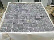Blue Limestone Flooring, Blue Limestone Cube, Tumbled