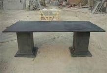 Blue Limestone Table