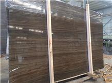 Coffee Wood Marble Slab