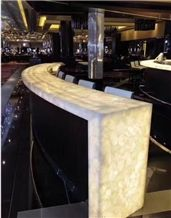 Emi-Precious Stone Bar Top,Commercial Counters