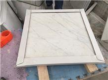 Italy Bianco Carrara White Marble Tile Wall Flooring