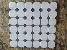 White Marble Mosiac, Ariston White Marble Mosaic
