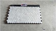 Carrara White Hexagon Marble Mosaic Tile