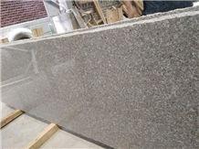 Polished G636 Rosa Pink Granite Slabs Flooring Wall Cladding