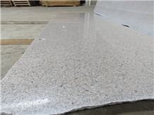 Polished G681 Wild Rose Pink Granite Slabs for Floor and Wall