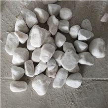 White Pebble River Gravels Stone Landscape Unpolished 20-30mm,30-50mm