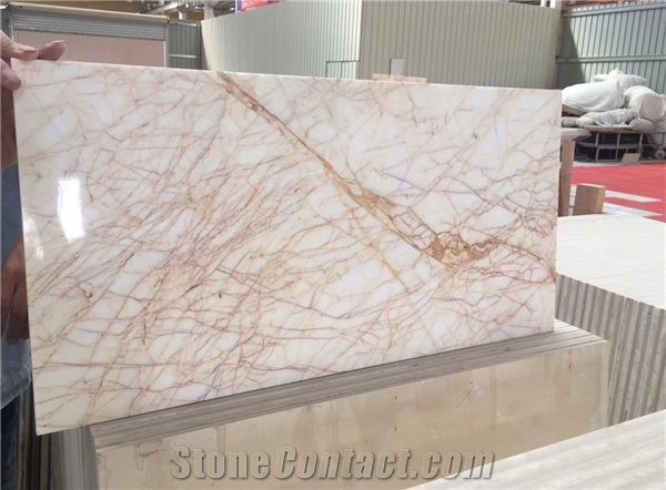 Drama Gold Marble Gold Spider Marble Yellow White Marble From China Stonecontact Com