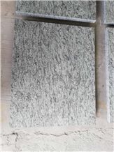 Water-Jet Olive Green Granite Flooring or Wall Tiles Decorative Design
