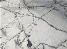 Eksioglu Iceberg Blue Marble Slab, Turkey White Marble