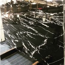 Nero Fantasy Granite Slabs, China Black Granite,Royal Ballet