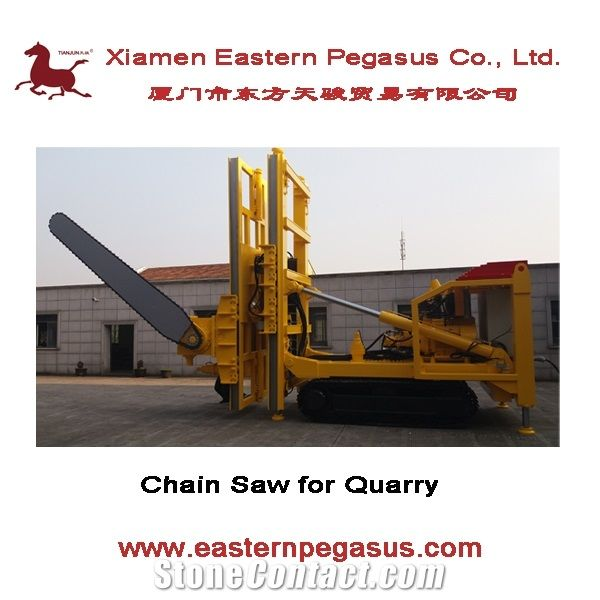 Chain Saw Machine for Marble and Limestone Mining, Tjgd-25