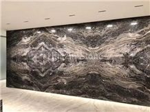Cloudy Grey Marble Slabs&Tiles,Gray Marble