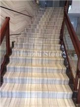 Crystal Wooden Natural Marble Stairs & Steps